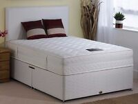 ==FREE DELIVERY==BRAND NEW DOUBLE DIVAN BED BASE AND MATTRESSES SINGLE/KINGSIZE