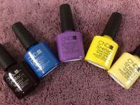 CND shellac nail polish - gel hybrid