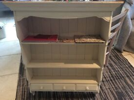 Wall dresser unit with drawers
