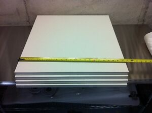 "Ikea Rationell shelves for 24""x24"" Akurum cabinet  white"