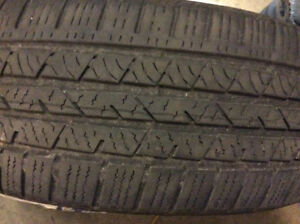 2 good all season tires