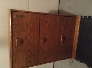 Cabinet with lock and key COMPACT SIZE