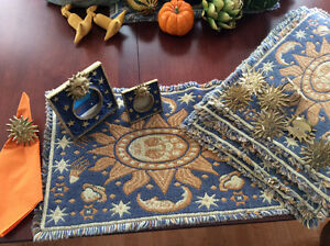New Fall placemat sets, runners,napkins, matching napkin rings Edmonton Edmonton Area image 6