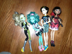 Collection of Monster High dolls for sale London Ontario image 1