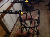 Halfords rear high mount 3 cycle carrying rack