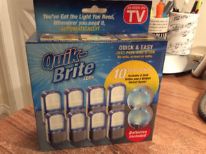 Quik-Brite LED lights