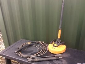 Stihl pressure washer gun lance , hose and patio brush cleaner can post