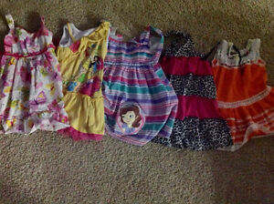Large girls 4T summer lot