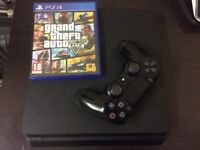 Sony PS4 1TB games console with GTA 5 game