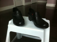 Brand New Black Clark Shoes, size 9 1/2.