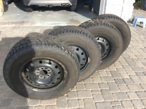 Winter tires size 235/70 R16