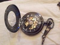 Pocket watch time piece