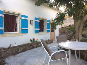 STUDIO ST MARTIN IN FAMILY PROPERTY WHITH POOL