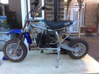 Dr50, mini dirt bike