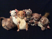 TY Beanie Baby Rodent Collection