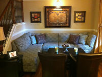 Month to month FURNISHED 3 Bed Exec DT Utilities Incl. wifi