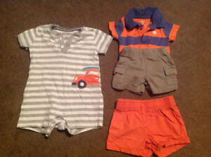Summer clothes, size 6 months, for baby boy