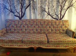 Divan sofa antique rétro vintage