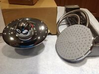 Mira Excel Chrome Shower Thermostatic Mixer