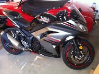2013 Kawasaki Ninja 300cc ABS Special Edition! Still available!
