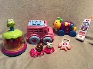 Bundle of Gently Used Baby Girl Toys