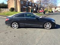 MERCEDEZS E350 AMG COUPE TURBO DIESEL AUTOMATIC 59 PLATE