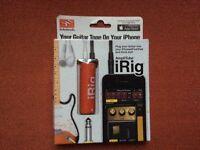iRig guitar connector