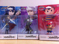 Selling New In-Box Robin, Lucina and Ness amiibo