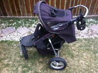 Valco Baby Single Stroller with Weather Cover