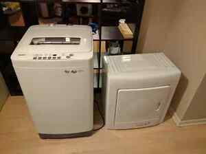 New Apt Size Washer and Mountable Dryer for sale