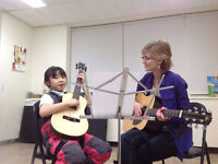 Flute, Piano, Guitar, Theory Lessons
