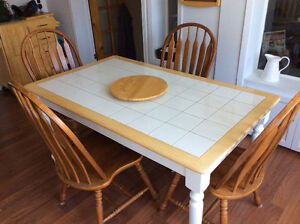 Sturdy Kitchen Table and Chairs !