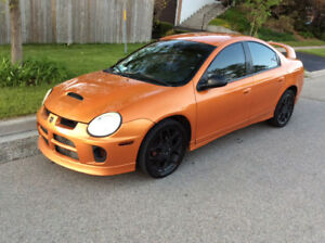 2005 dodge neon srt4 low mileage turnkey car maintained well!