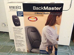 2Motor Back Massager with Heat