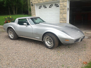 1978 25th anniversary corvette