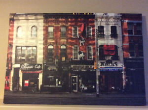 Modern / contemporary Art Print of King St in Toronto - 60 x 40