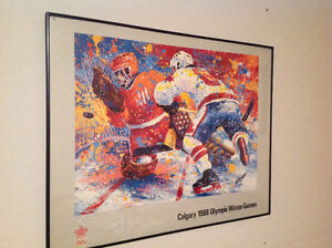 1988 Calgary Olympic prints for sale
