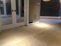 WE ARE THE BEST IN FLOOR REMOVAL! CALL NOW!  289.456.4083