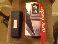 Cry baby wah pedal Dunlop