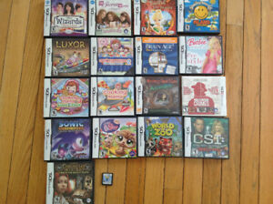 Lot of 18 Nintendo DS video games Sonic, Cooking Mama, Pets etc