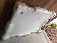 Shower tray- new slimline 1200mm x 900mm