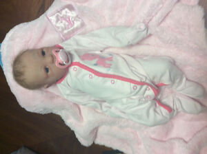 full body SILICONE reborn baby girl doll NEW PRICE!!