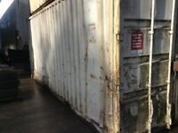 18 ft and 20 ft steel container storage