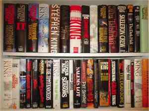 Looking for Stephen King hardcovers $$