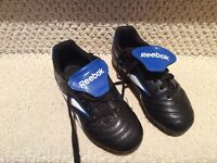 Reebok soccer leather shoes size 1