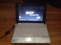 Acer on ( note book)