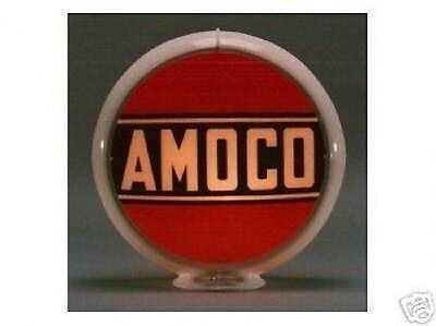 Texaco Ethyl Gas Pump Globe Sign Red Glass Lenses Oil Filling Gas Station Decor