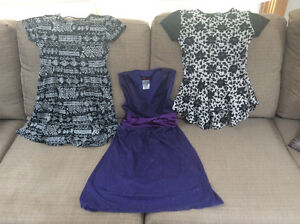 Two cute dresses and three cute tops!
