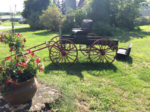 1870's Horse Drawn Carriage