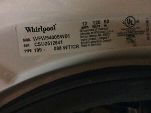 whirlpool duet washer assy or parts mcu and pump are gone London Ontario image 2